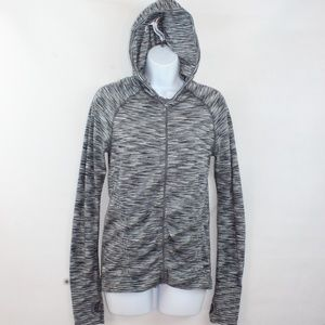 Athleta Full Zip Lightweight Space Dye Hoodie